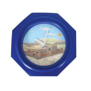 Reloj de Pared, con el Templo de David