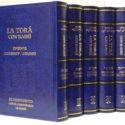 La Torah en 5 tomos con comentario Rashi