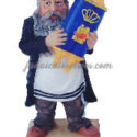 Figura cerámica rabino con Torah grande