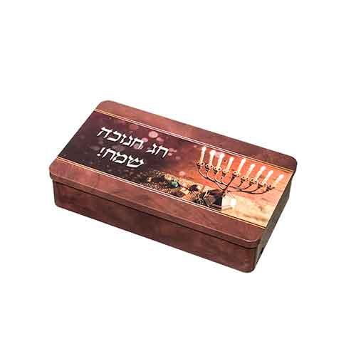 Cajas de metal para velas